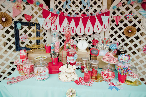 Carnival Wedding Theme